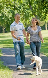 January is National Walk Your Pet Month!