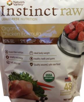 Instinct® Raw Organic Chicken Formula