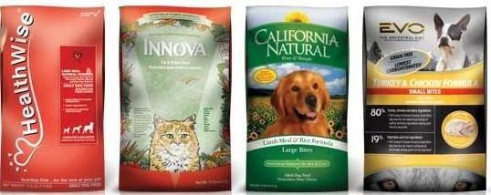 Natura Pet Recalled Items