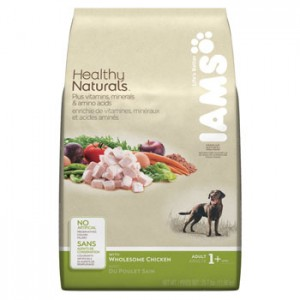 Iams Dog Food  ~ Healthy Naturals Chicken Adult. (Recall announced 08/14/13)